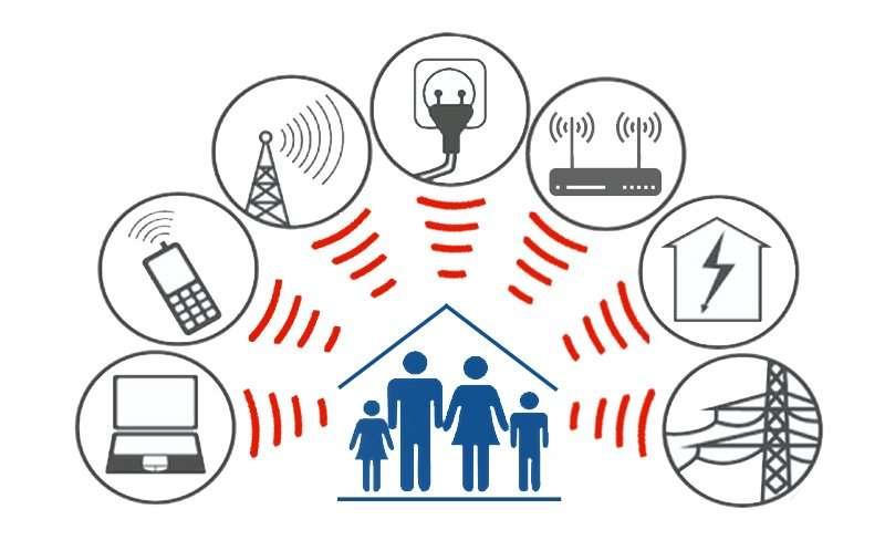 tecnologia inquinamento elettromagnetico camera da letto